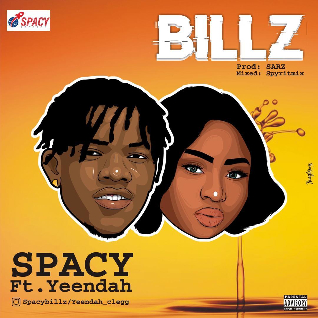 Spacy Ft. Yeendah - Billz